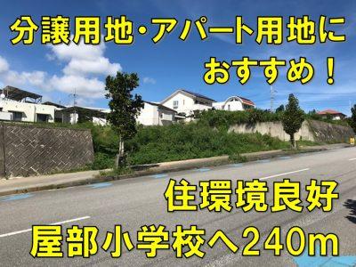 名護市 宇茂佐の森三丁目196.15坪